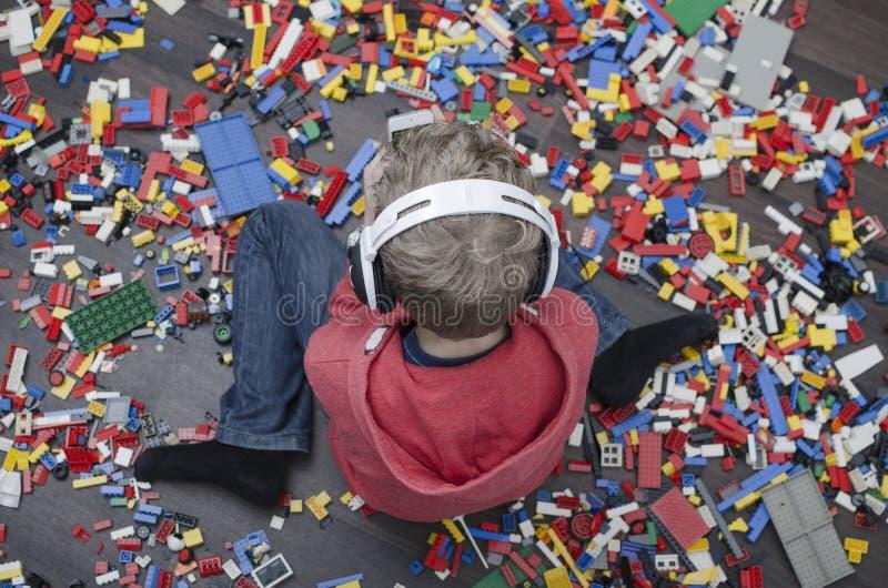 Criança estragada imagens de stock