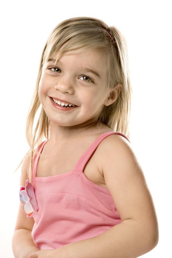 Criança fêmea. fotografia de stock royalty free