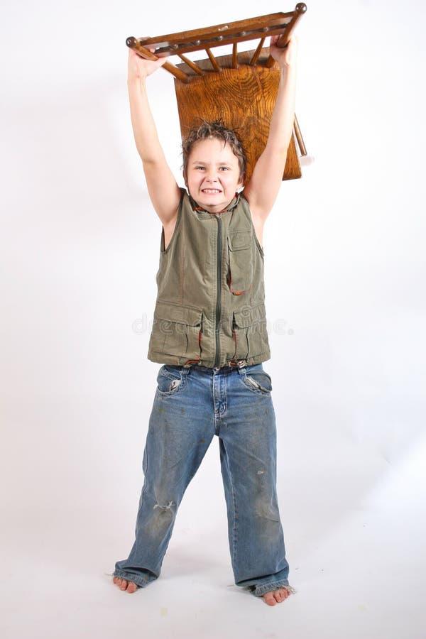 Criança fatigante imagem de stock royalty free