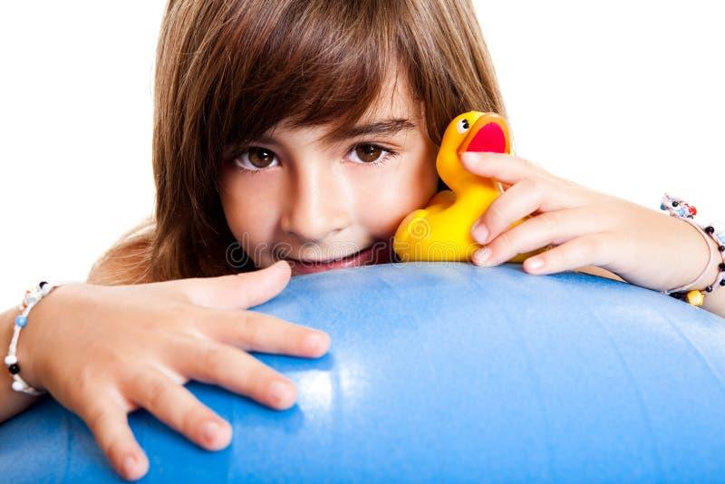 Download Criança feliz imagem de stock. Imagem de face, lazer - 12805655