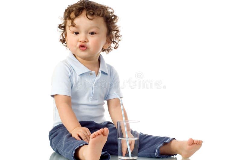 Criança feliz. fotografia de stock