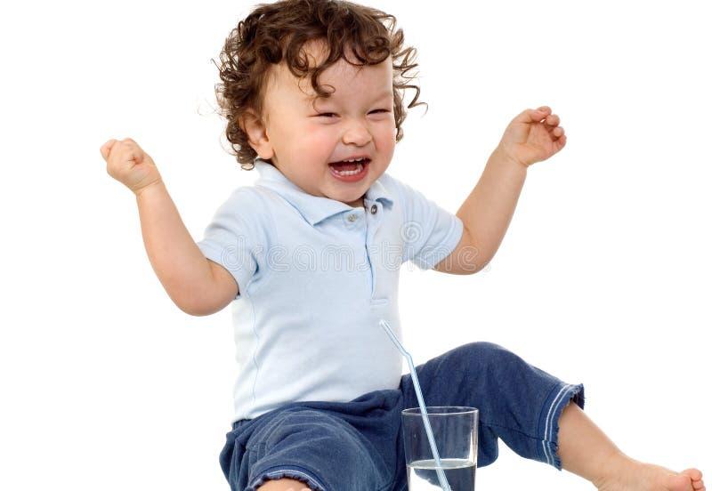 Criança feliz. fotografia de stock royalty free