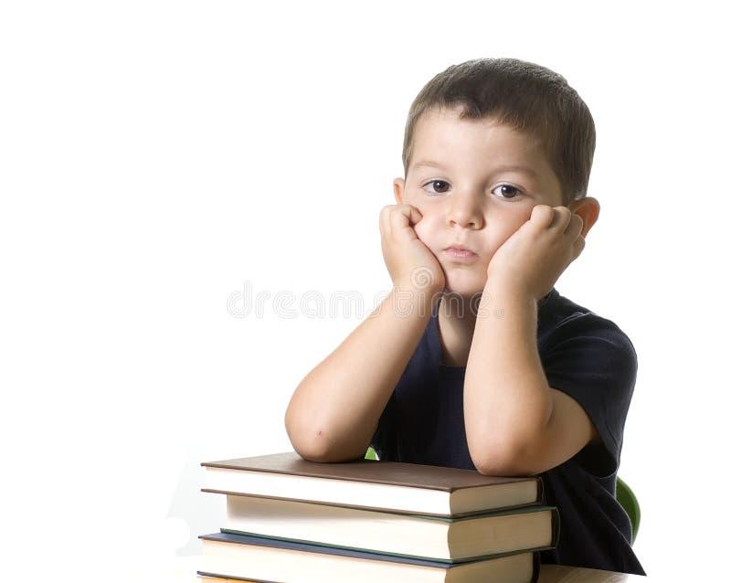 Criança furada imagem de stock