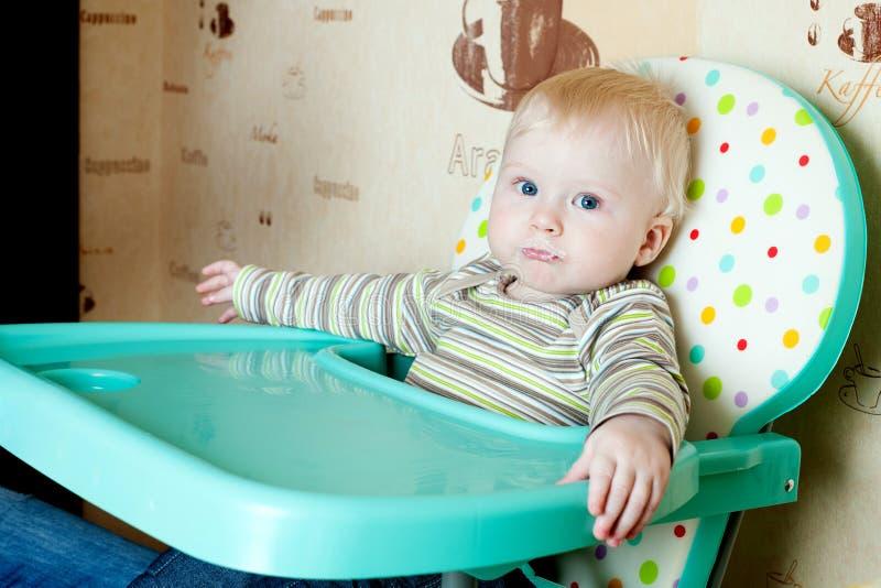 Criança Grimy fotografia de stock royalty free