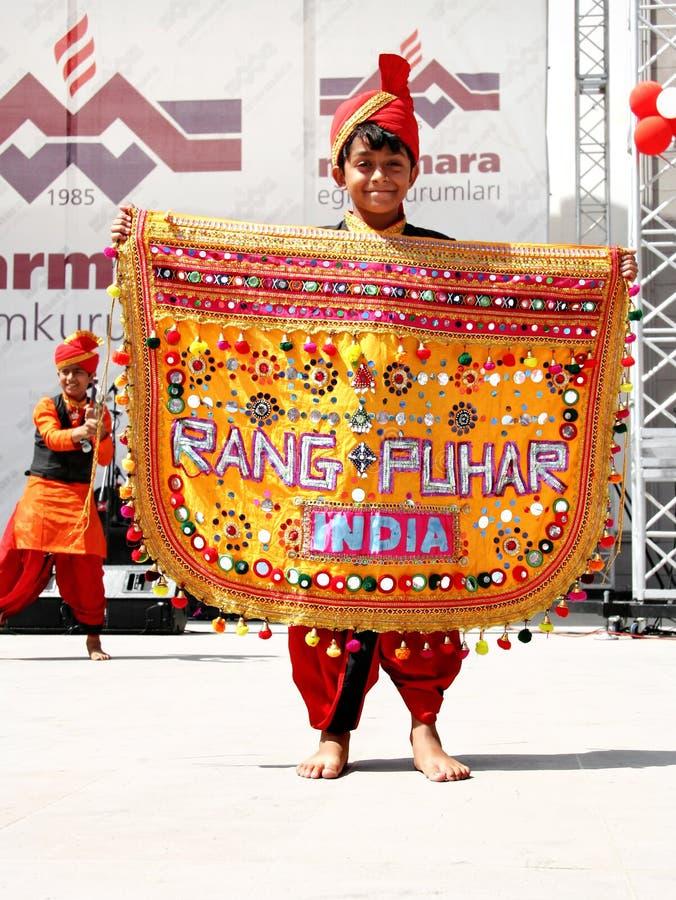 Criança indiana fotografia de stock