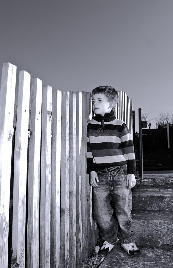 Criança infeliz imagens de stock