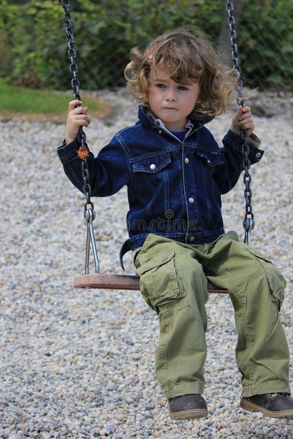 Criança infeliz imagens de stock royalty free