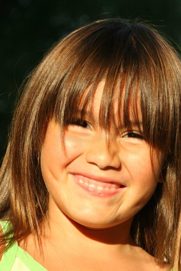Criança latino-americano nova fotografia de stock