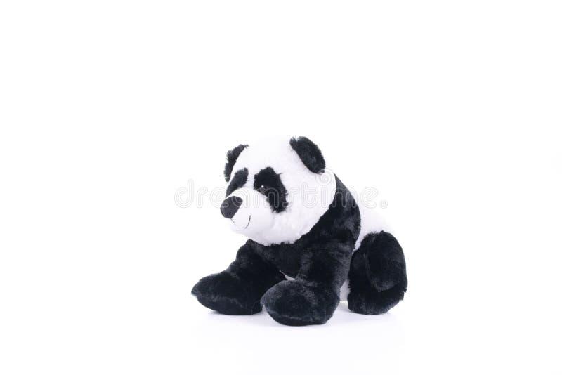 Criança macia do gifi das crianças do brinquedo da panda foto de stock royalty free