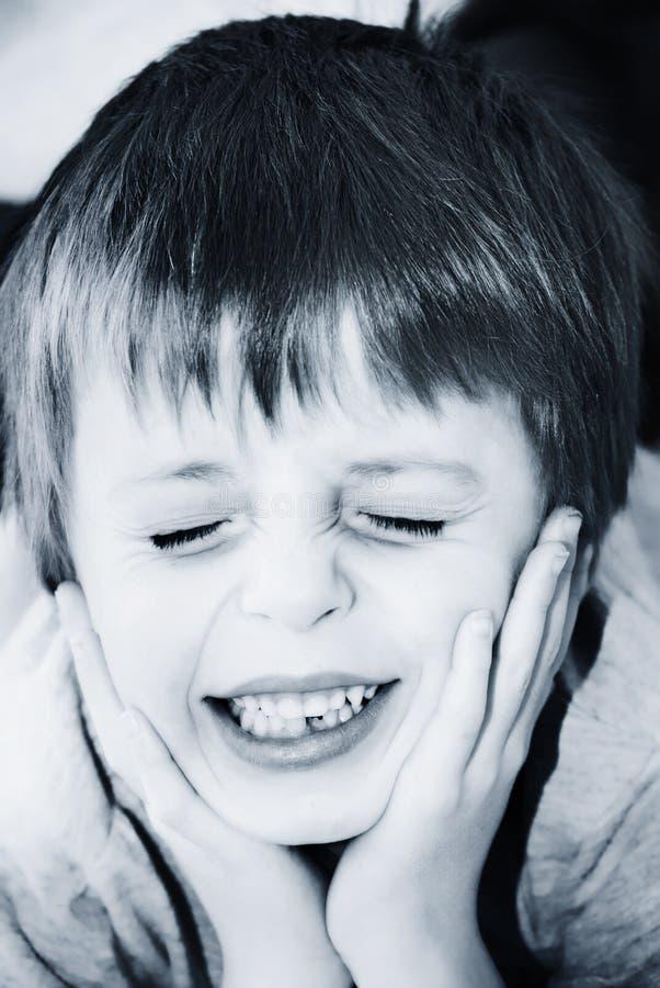 Criança na dor imagens de stock royalty free