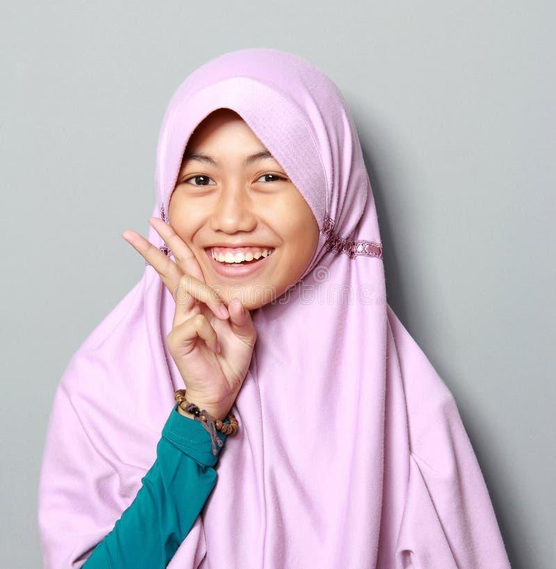 Criança nova dos muçulmanos fotos de stock royalty free