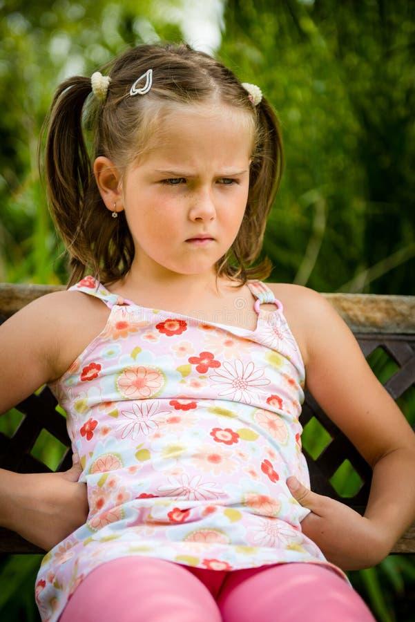 Criança ofendida fotos de stock royalty free