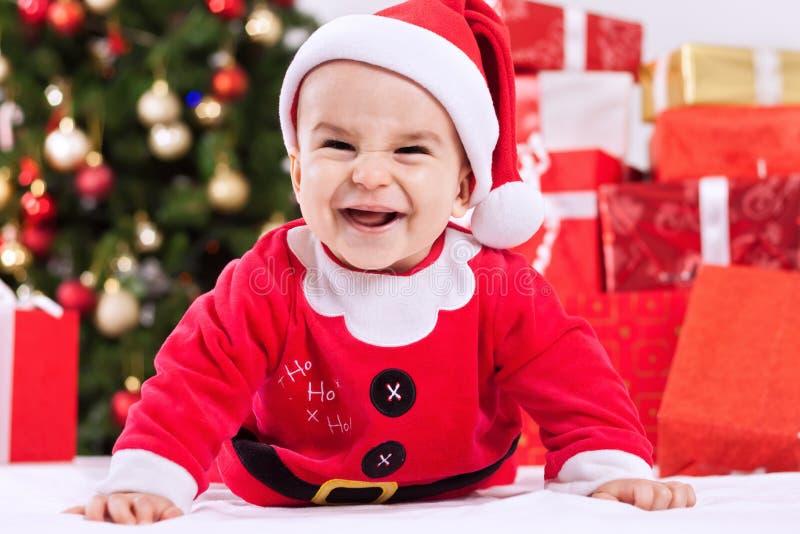 Criança pequena bonita engraçada do bebê fotografia de stock royalty free