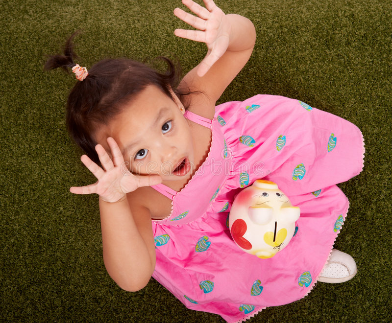 Criança pequena brincalhão fotos de stock