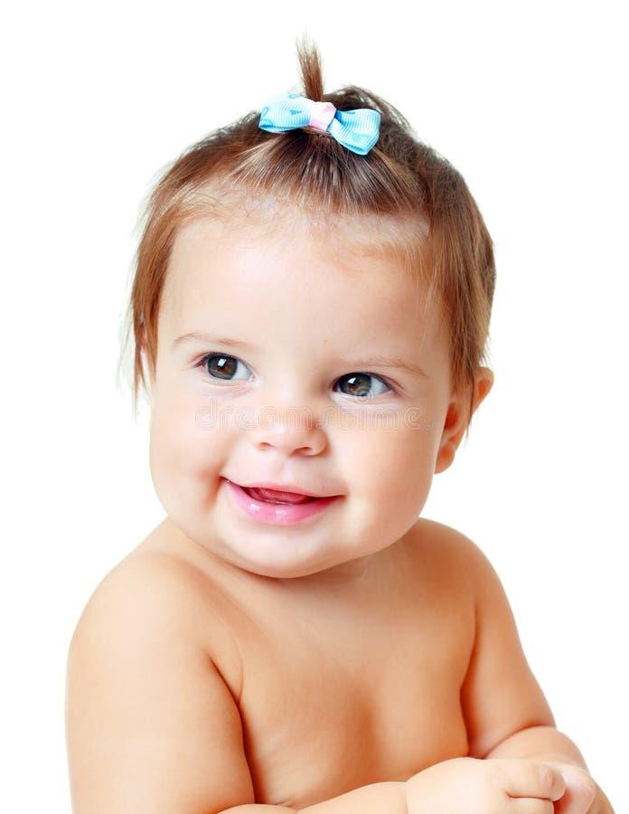 Criança pequena muito doce fotografia de stock