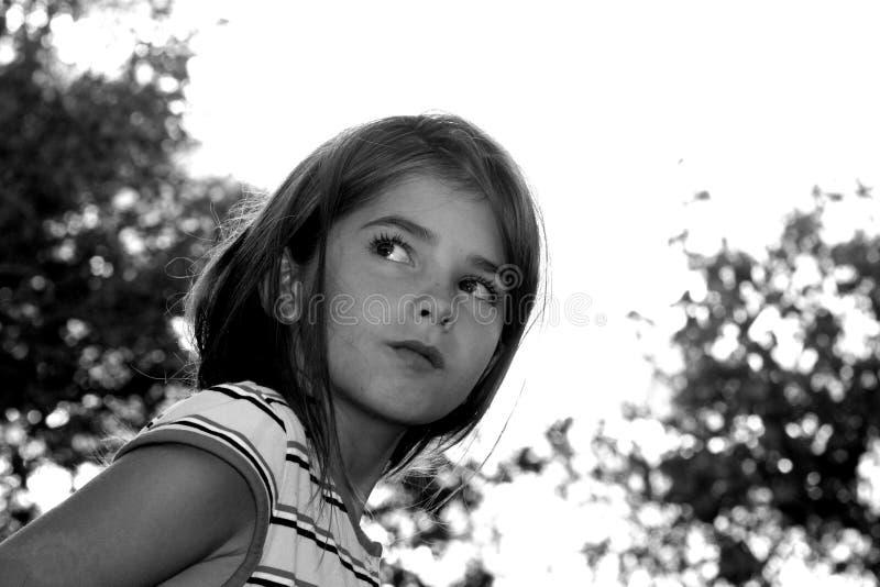 Criança perdida imagens de stock
