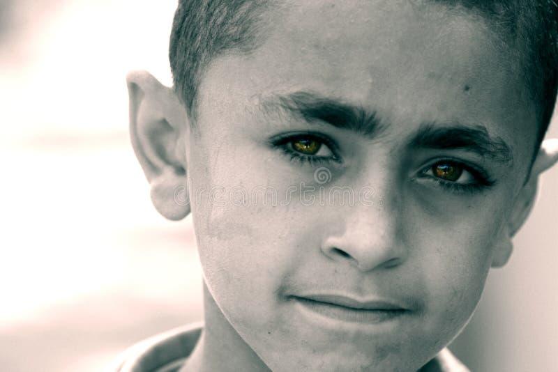 Criança pobre foto de stock royalty free