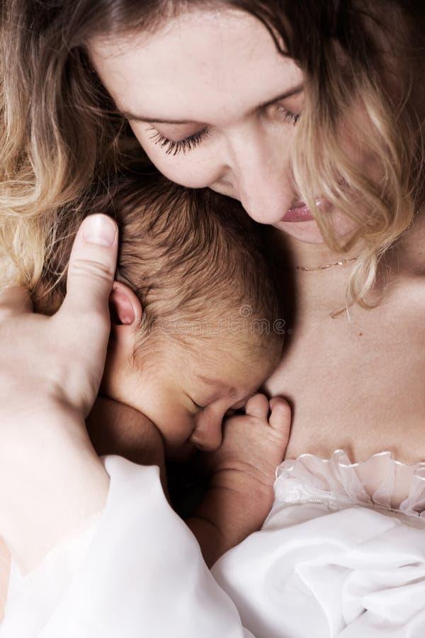 Criança recém-nascida fotos de stock royalty free