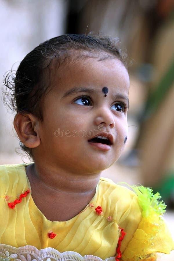 Criança rural indiana foto de stock royalty free