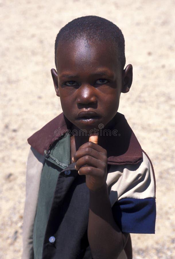 Criança Turkana (Kenya) imagens de stock