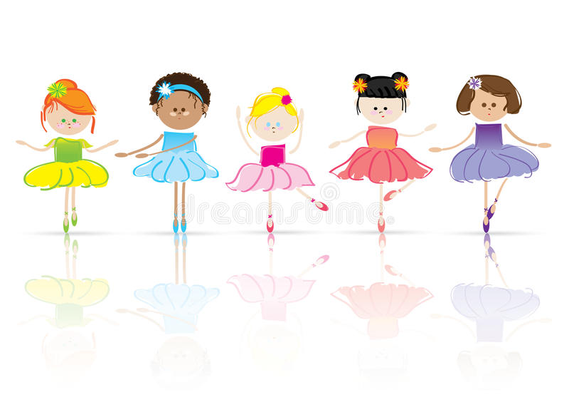 Crianças ilustração stock