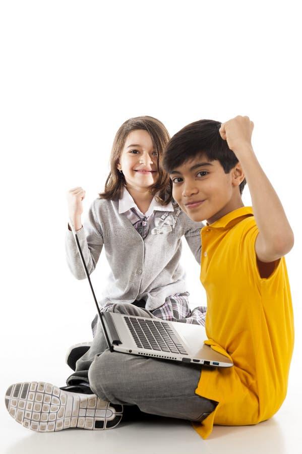 Crianças fotografia de stock