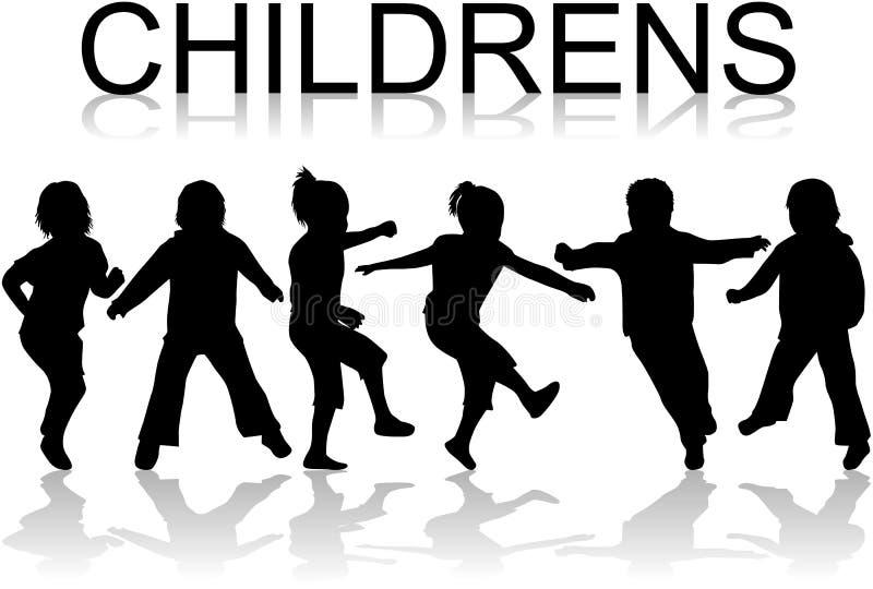 Crianças ilustração royalty free