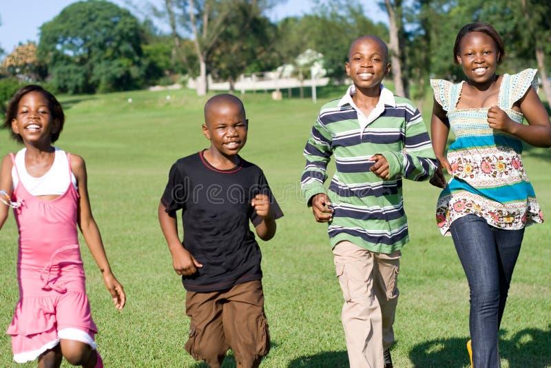 Crianças africanas imagem de stock royalty free