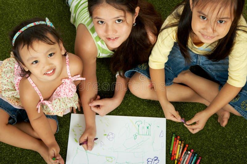 Crianças alegres imagem de stock royalty free