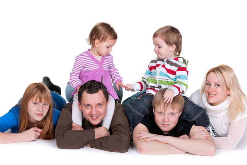 Crianças amigáveis foto de stock