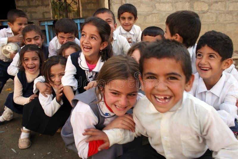 Crianças curdos imagem de stock