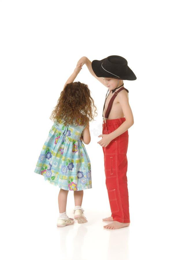 Crianças da dança imagem de stock royalty free