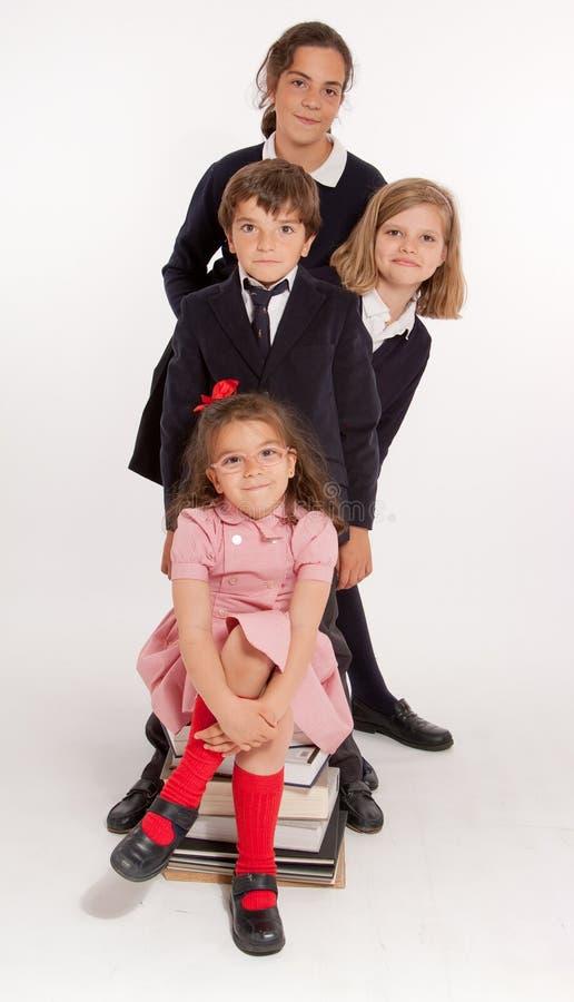 Crianças da escola foto de stock