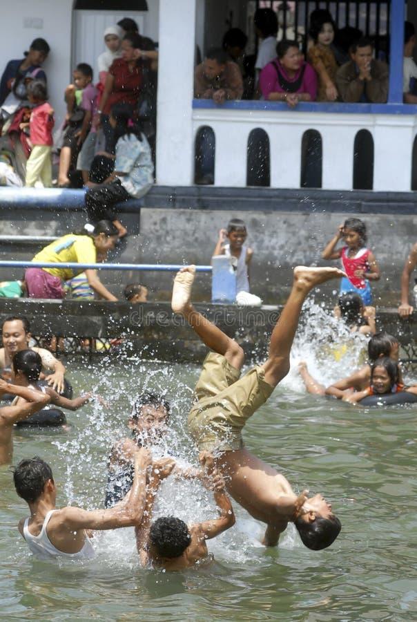 CRIANÇAS DA POPULAÇÃO DE INDONÉSIA fotos de stock