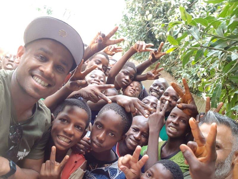Crianças de África fotografia de stock