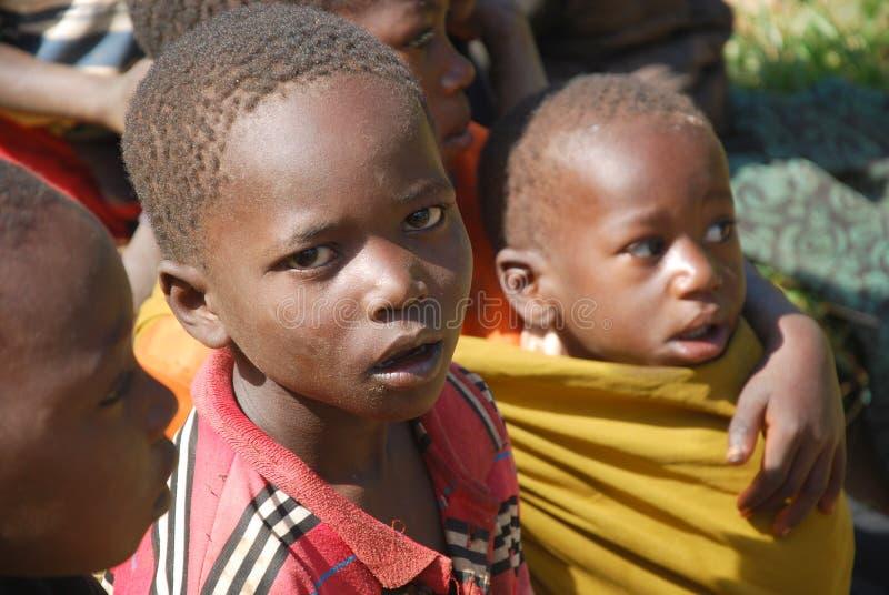 Crianças de Tanzânia África 67 imagem de stock royalty free