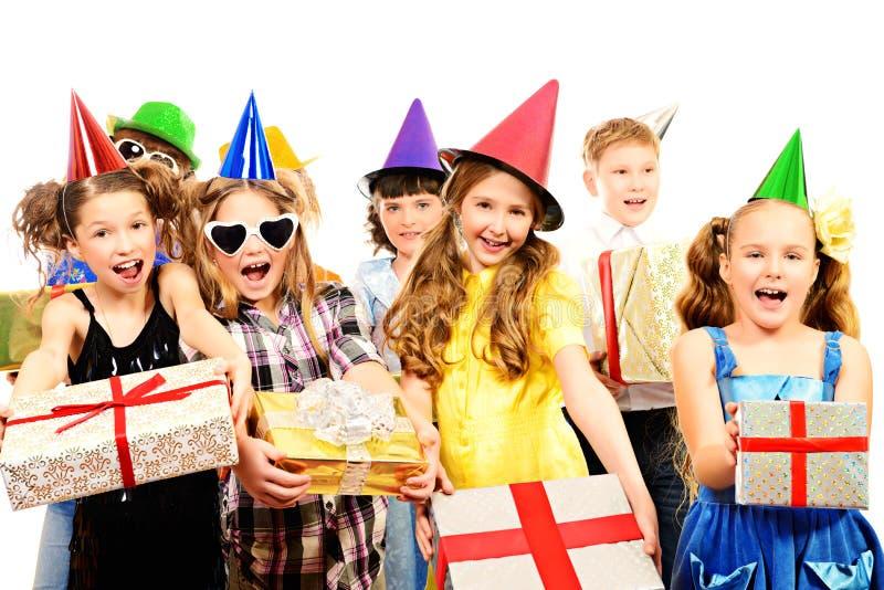 Crianças do feriado fotografia de stock