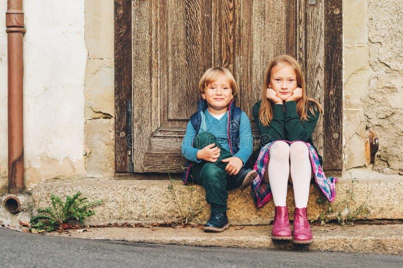 Crianças do retrato fotografia de stock royalty free