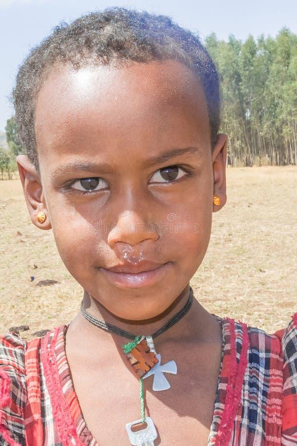 Crianças em Etiópia imagens de stock royalty free