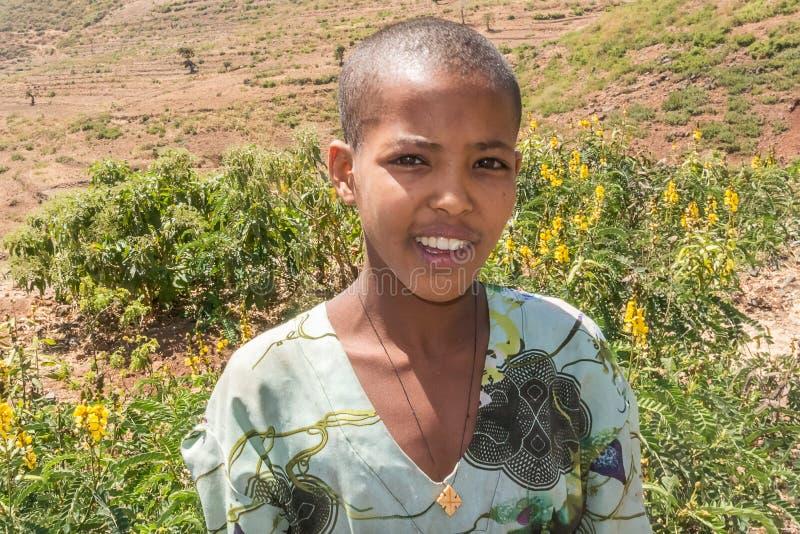 Crianças em Etiópia fotos de stock royalty free