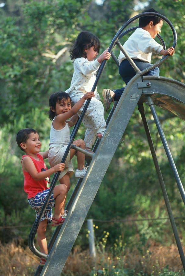 Crianças latino-americanos fotos de stock royalty free