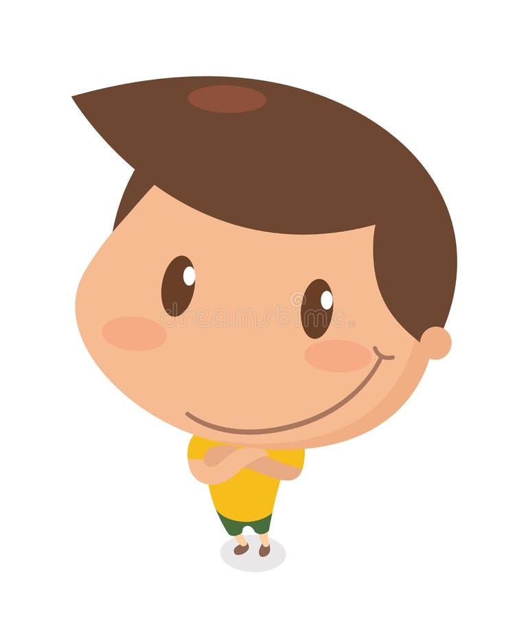Crianças na ação confiável ilustração royalty free