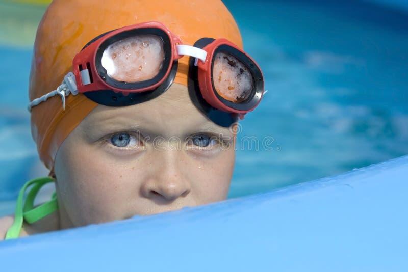 Crianças na associação de remo imagens de stock