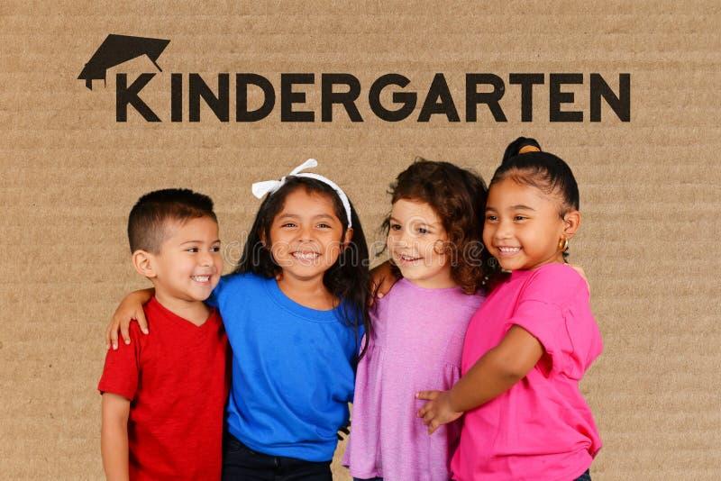 Crianças na escola imagens de stock