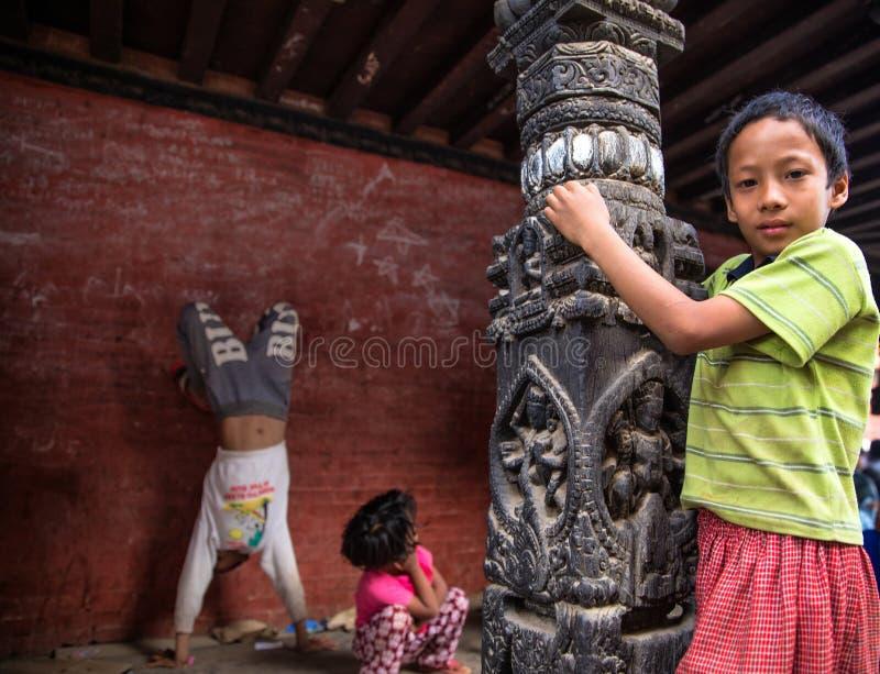 Crianças Nepal