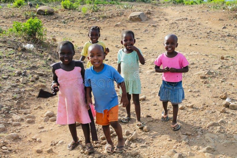 Crianças pequenas africanas imagem de stock royalty free