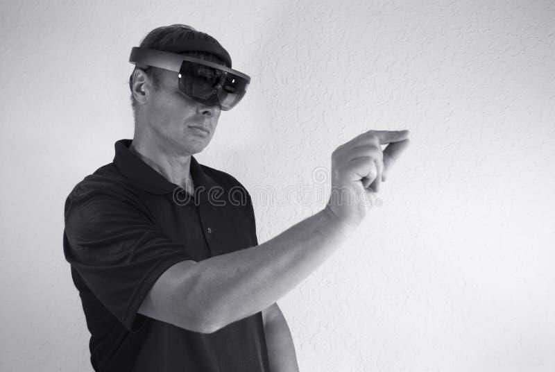 criando a realidade virtual imagens de stock royalty free