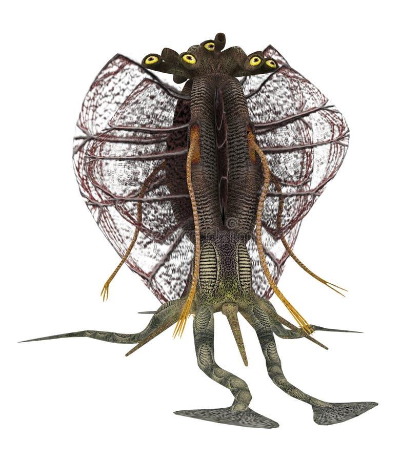 Criatura extranjera ilustración del vector