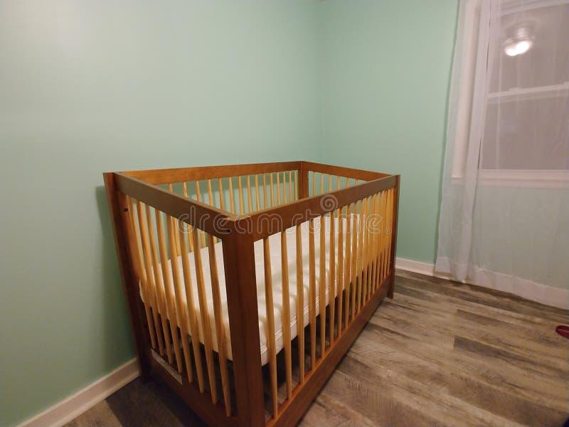 Crib royalty free stock photography