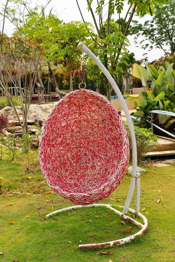 Crib hang style bird's nest stock photos